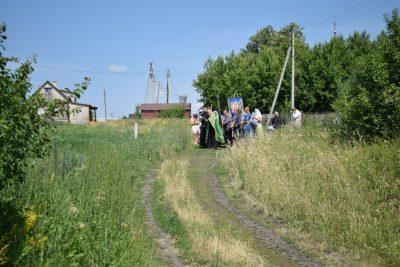 В селе Оленевка состоялся крестный ход