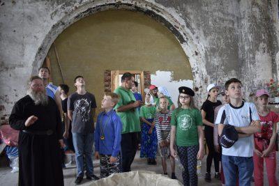 Стартовал цикл экскурсий по храмам Каменского благочиния