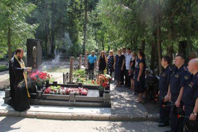 В УФСИН почтили память Героя России Александра Сергеева