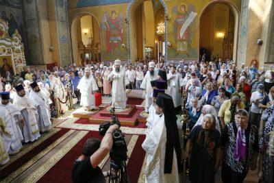 Митрополит Серафим возглавил торжества в честь Вознесения Господня в Вознесенском кафедральном соборе Кузнецка