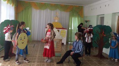 Воспитанники воскресной школы села Архангельское посетили детский сад