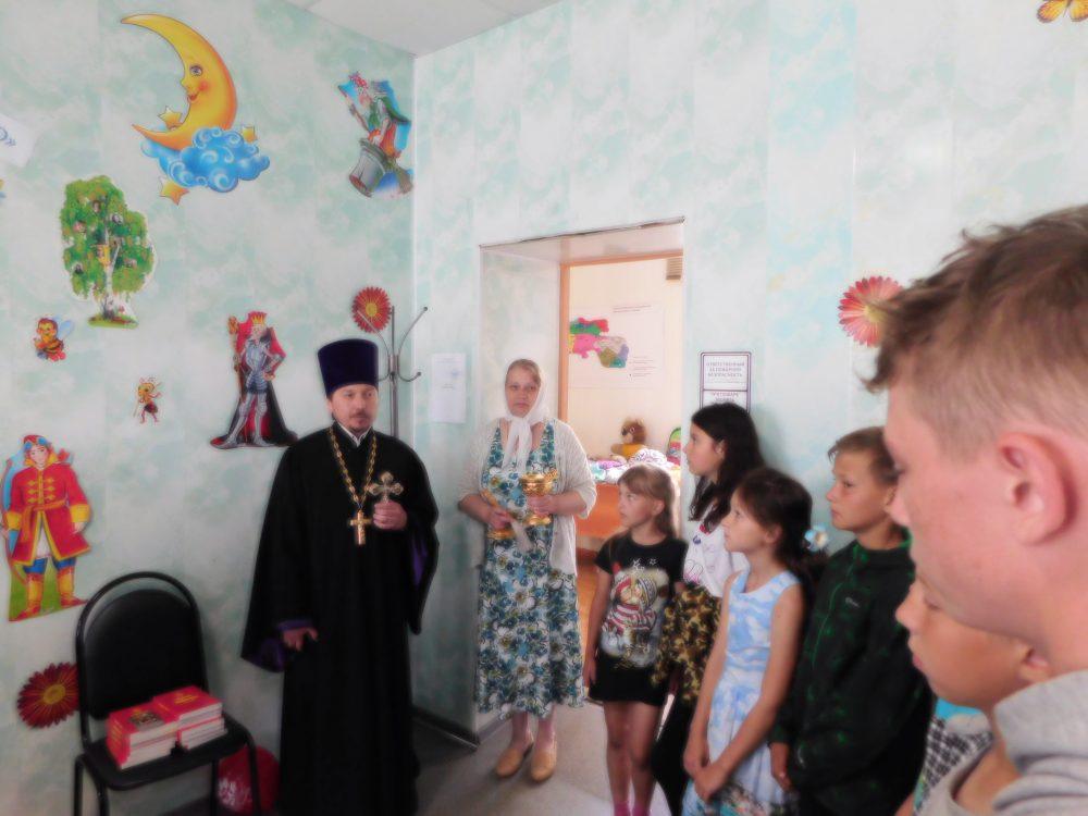 Священник принял участие в праздничном мероприятии в День защиты детей