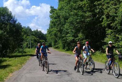 В Городищенском благочинии состоялся велопробег