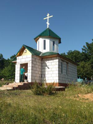 В Троицком храме-часовне села Кера совершено первое богослужение