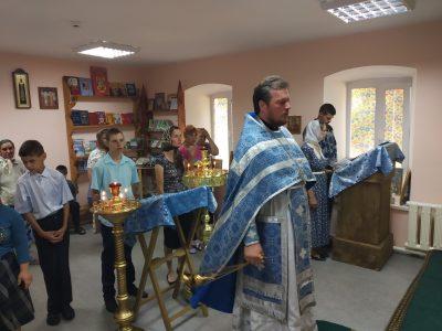 В Мокшанском детском доме-интернате состоялась Божественная литургия