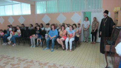 Священник встретился с родителями воспитанников детского сада