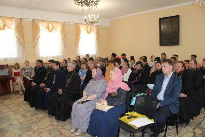 В епархиальном управлении прошел учебный семинар по оформлению заявок для участия в грантовых конкурсах