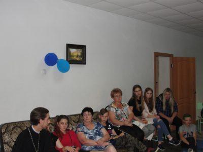Священник встретился с воспитанниками детского оздоровительного лагеря в селе Блохино