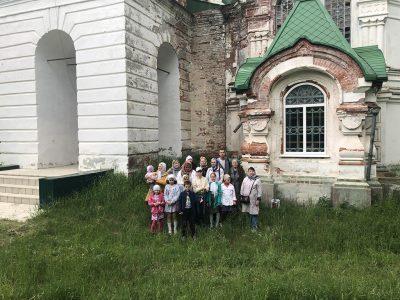 Воспитанники воскресной школы «София-Премудрость Божия» совершили паломничество в село Ершово