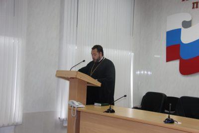 Священник принял участие в круглом столе в УФСИН