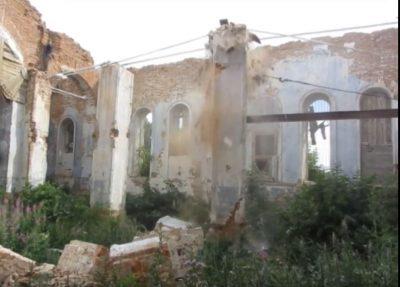Продолжается восстановление Введенского храма села Чемодановка