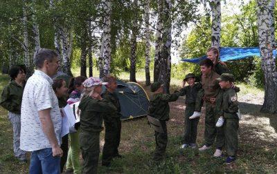 Отряд краеведов «Пешая слобода» воскресной школы побывал в многодневном походе
