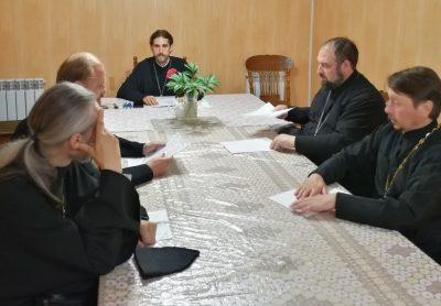 Состоялось собрание духовенства Бессоновского районного благочиния