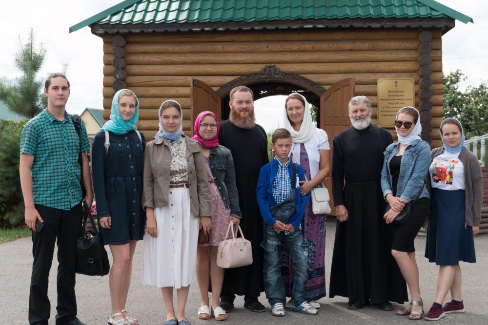 Студенты объединения «Татьянин день» посетили Казанскую Алексиево-Сергиевскую пустынь в Сазанье