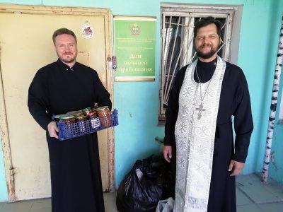 Священнослужители посетили Дом ночного пребывания