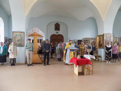 В Казанской церкви села Трофимовка освятили колокол