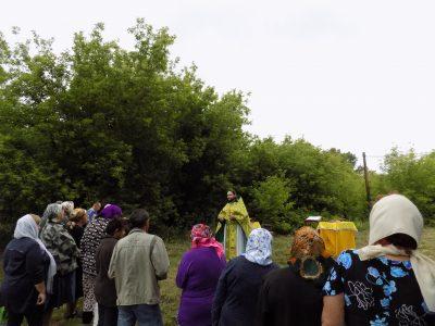 В селе Александровка состоялась миссионерская Литургия