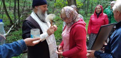 Близ дачного поселка Тумалейка освятили источник в честь Всех святых, в Земле Российской просиявших
