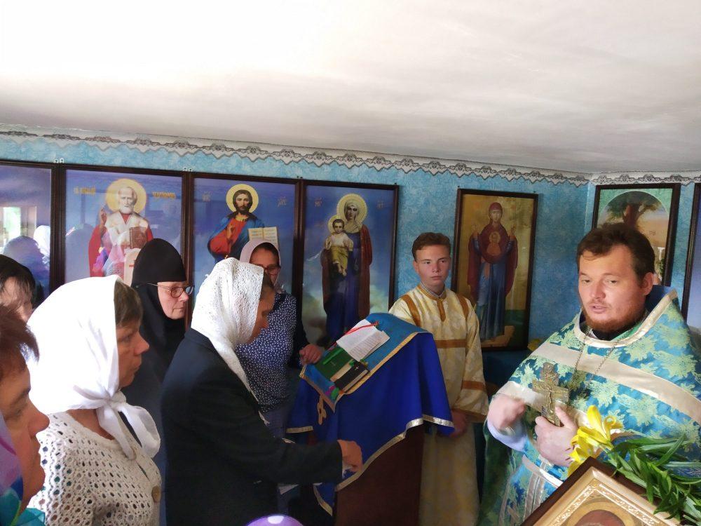 Впервые за 80 лет в селе Знаменка Мокшанского благочиния совершена Литургия