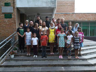 В санатории «Володарский» началась православная смена воскресной школы «Зернышки»