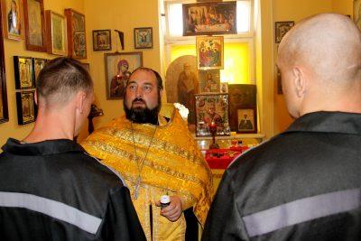 Священнослужитель посетил следственный изолятор-1