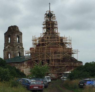 В бывшем Успенском монастыре в честь 300-летия дома Романовых почтили память Царственных страстотерпцев