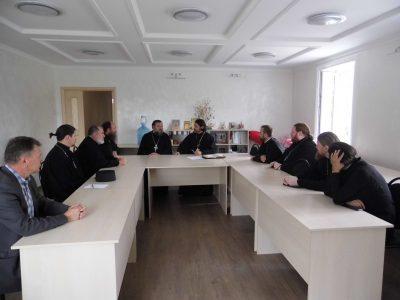 Состоялось собрание духовенства Спасского городского благочиния