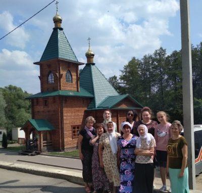 Прихожане Покровского архиерейского собора совершили паломничество на святые источники Шемышейского района