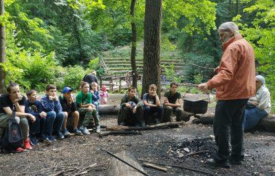 Юные разведчики НОРД «Русь» провели первый сбор по подготовке к лагерю «Будь готов»