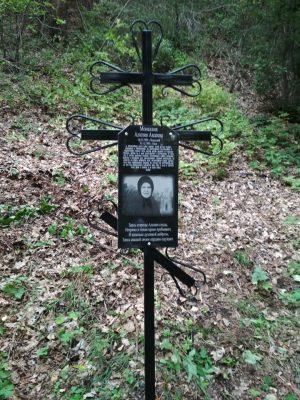 В селе Вышелей освятили памятный крест в честь монахини Алипии (Авдеевой)