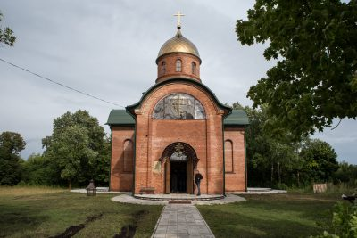В канун дня памяти Иоанна Оленевского митрополит Серафим совершил малую вечерню с акафистом святому на его малой родине