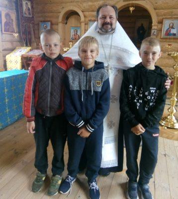 В селе Дигилевка отслужен молебен перед началом учебного года