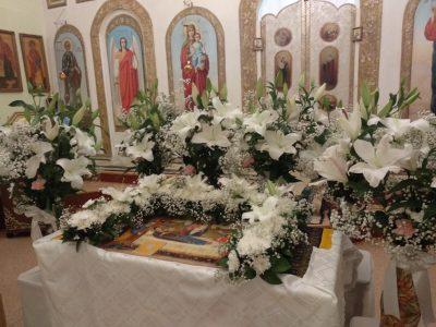 В день Успения Пресвятой Богородицы в храме Петра и Февронии состоялась ночная Божественная литургия