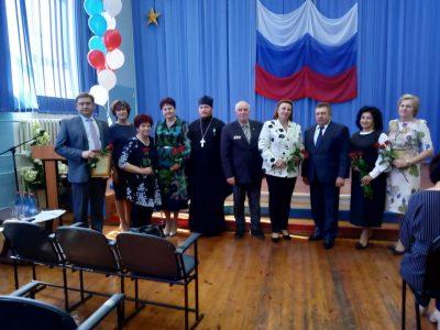 Представители Мокшанского благочиния выступили на районной педагогической конференции