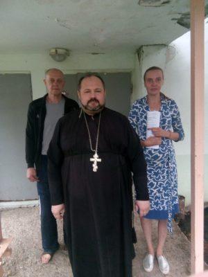 Священник Александр Рысин посетил с пастырским визитом наркодиспансер в селе Русский Ишим