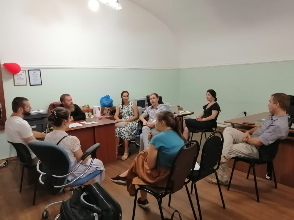В епархиальном управлении прошла коллегия отдела по делам молодежи Пензенской епархии