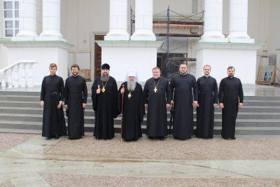 Митрополит Санкт-Петербургский и Ладожский Варсонофий посетил Пензу
