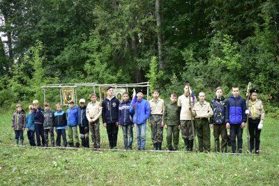 В Пензенской епархии завершил работу военно-патриотический лагерь «Будь готов»