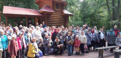 В Городищенском благочинии состоялся крестный ход от поселка Чаадаевка до источника в честь преподобного Серафима Саровского