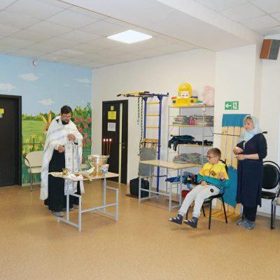 Священник посетил физкультурно-оздоровительный центр для людей с ограниченными возможностями «Адели-Пенза»