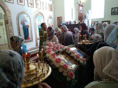 Прихожане храма Петра и Февронии отметили престольный праздник