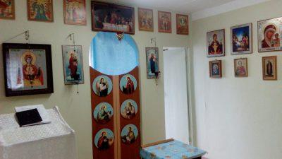 Священник посетил наркологический центр в Городищенском районе
