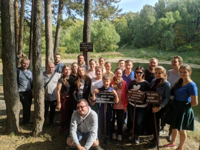 Православные добровольцы провели экологическую акцию на Ласточкином озере