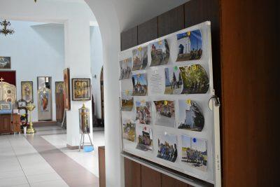 Прихожанам храма Александра Невского города Каменки представлена фотовыставка проекта «Наследие»