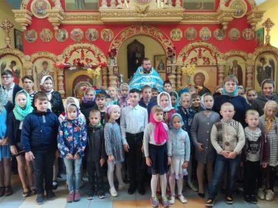 В Городищенском благочинии состоялись молебны перед началом нового учебного года