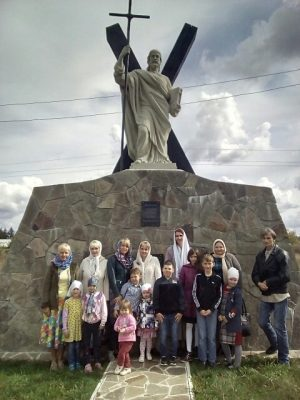 Воспитанники воскресной школы совершили паломническую поездку  в Казанскую Алексиево-Сергиевскую пустынь