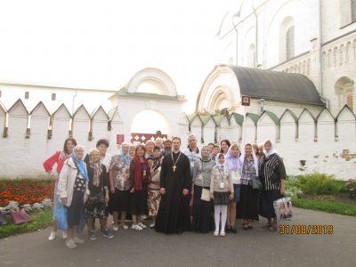 Пензенские паломники посетили святые места «Золотого кольца» России
