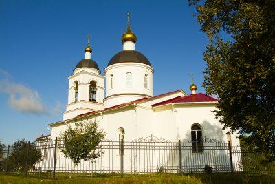 """В Казанский храм села Трофимовка была передана икона Божией Матери """"Достойно Есть"""""""