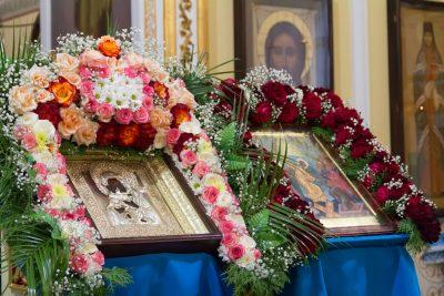 В канун Недели 12-й по Пятидесятнице митрополит Серафим возглавил всенощное бдение в Покровском архиерейском соборе