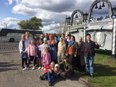 Воспитанники отряда краеведов «Пешая слобода» посетили Кузнецкий район